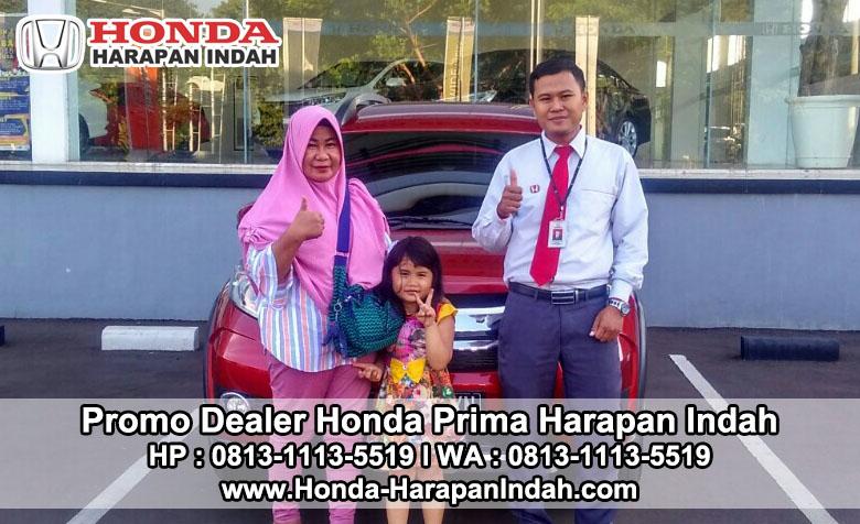 Promo Dealer Honda Prima Harapan Indah DP Murah & Cicilan Terjangkau
