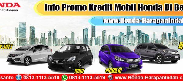 Info Promo Kredit Mobil Honda Di Bekasi, DP Murah & Cicilan Ringan