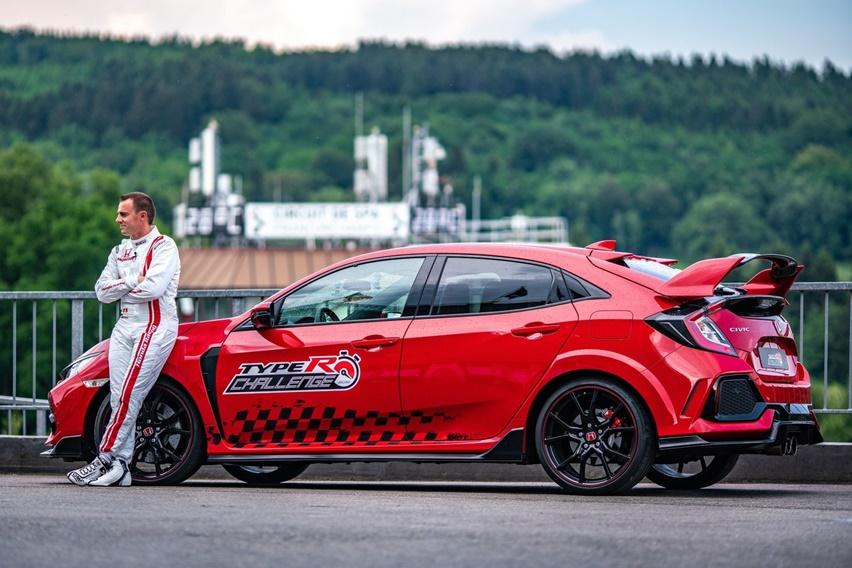 Honda Civic Type R Pecahkan Rekor Lagi, Giliran Sirkuit Spa-Francorchamps