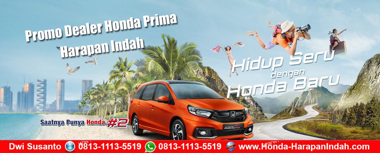 Promo Dealer Honda Prima Harapan Indah, DP Murah & Cicilan Ringan